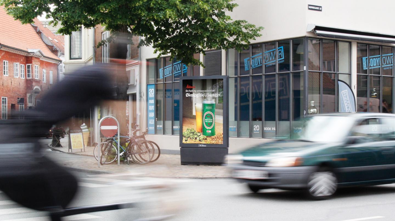 AFA JCDecaux - Abribus med Albani i Odense