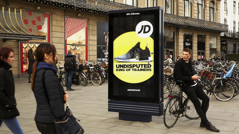 AFA JCDecaux - Brug kontraster, JD Sports, CPH Digital - gode råd til outdoor