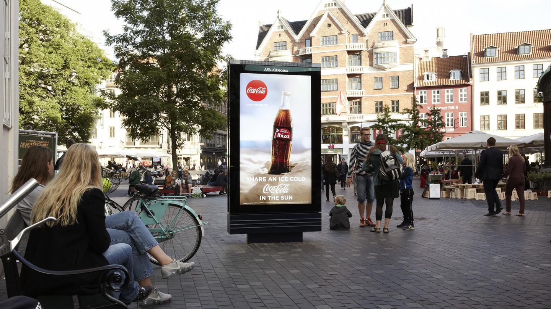 AFA JCDecaux - 7 vis produkt, coca cola - CPH Digital Gode råd til outdoor
