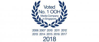 No. 1 OOH media company 2018