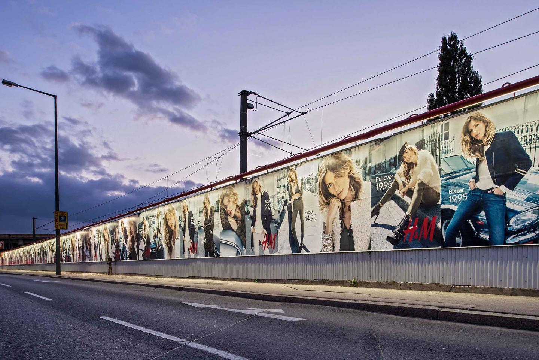 Plakatwerbung H&M